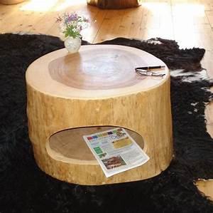 Baumstamm Als Tisch : baumstamm als tisch simple full size of massivholz esstisch couchtisch baumstamm tisch massiv ~ Indierocktalk.com Haus und Dekorationen