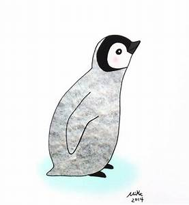 Penguin illustration, Baby penguins and Penguin drawing on ...