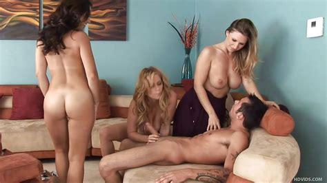 Devon Lee Holly West Violet Adamson Joey Brass In Satisfied By Superb Cougars Hd From