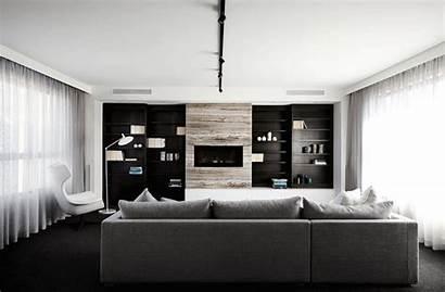 Interior Toorak Living Modern Sisalla Contemporary Stone