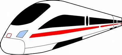 Train Clipart Speed Clip Bullet Clipground