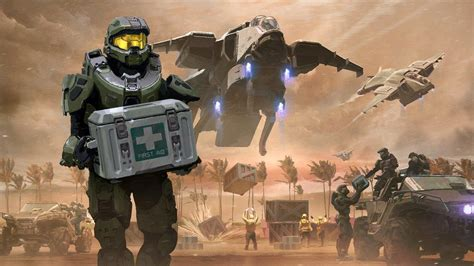 Halo 5 Relief And Recovery Req Pack Sales To Help Offer