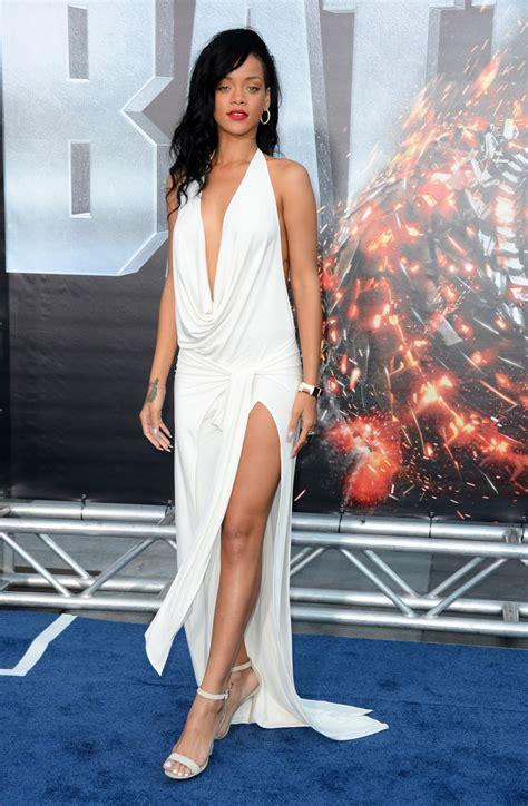 dress rihanna rihanna evening dress rihanna looks stylebistro