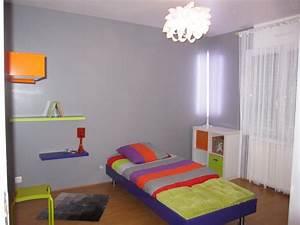 Chambre Enfant Moderne : chambre enfant acidul e photo 5 5 par contre l 39 poque il n 39 y avait pas le ~ Teatrodelosmanantiales.com Idées de Décoration