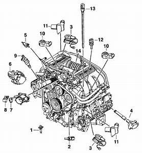 3 4 Liter Engine Parts Locations - Carrera  996