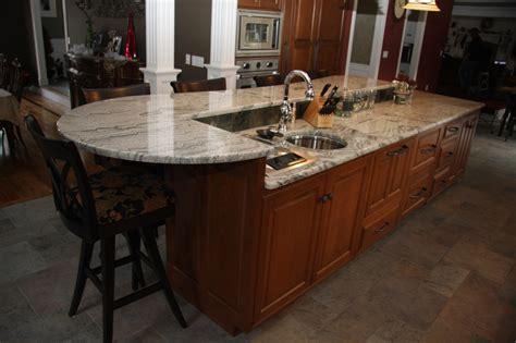 custom island kitchen custom kitchen island cabinets with seating in wilbraham