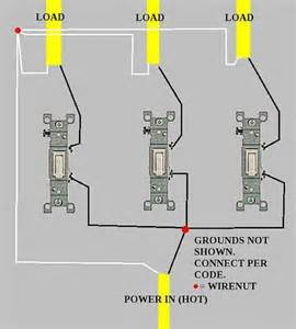 Wiring 3 Way Switches With Multiple Lights by 3 Gang Switch Wiring Diagram Wiring Diagram Schematic Online