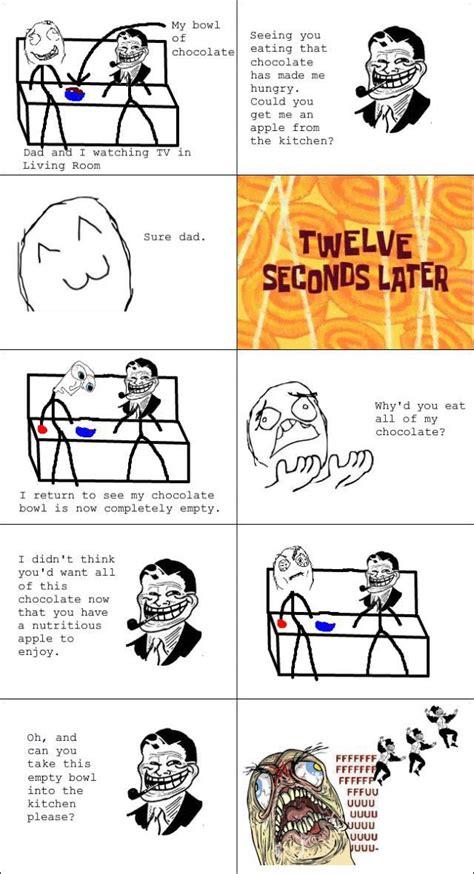 Dad Comic Meme - funny rage comics troll dad