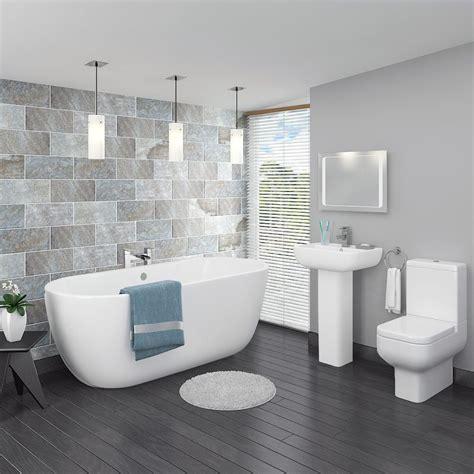 pro  modern  standing bath suite   victorian