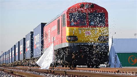 'silk Road' Freight Train From China Arrives In Barking