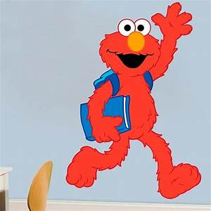 stickers for kids elmo school With cute elmo wall decals