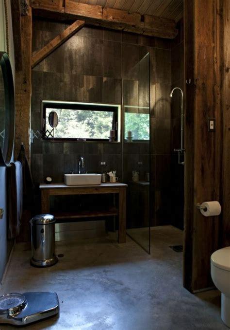 35 Rustikale Badezimmer Design Ideen