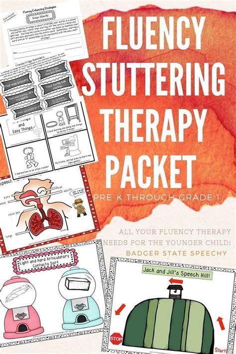 fluency stuttering therapy packet preschool to grade 1 688 | c8c7c8e24d15306cdb611999a3e96d09