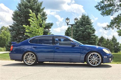 lexus gs300 blue 1999 lexus gs300 rare blue color full stereo system 20