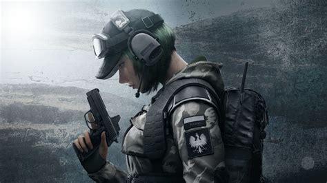 wallpaper operator ela defender rainbow  siege