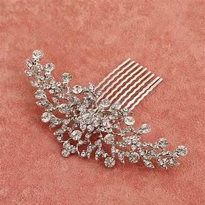 Elegant Crystal Rhinestone Wedding Hair Accessories Bride