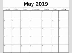 2019 Calendar Canada calendar yearly printable