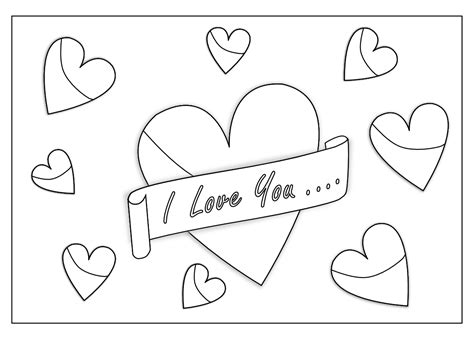 I Love You Boyfriend Coloring Pages Kids Coloring