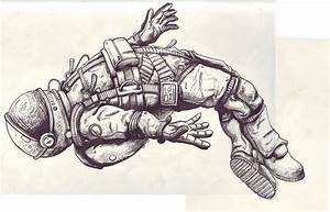 Astronaut On Moon Tattoo (page 3) - Pics about space
