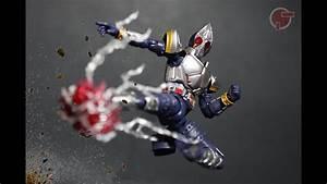 Toy Review: S.H. Figuarts Kamen Rider Blade - YouTube  Kamen