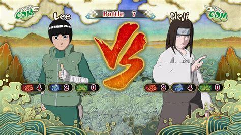 Ultimate Ninja Storm 3, Rock Lee Vs Neji