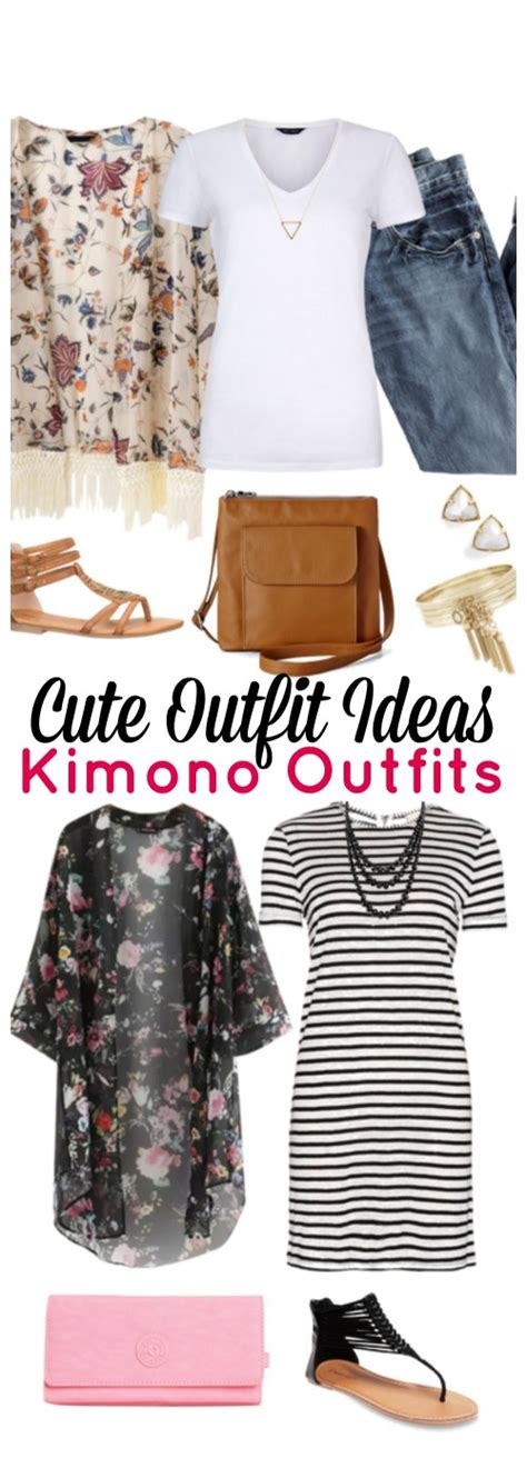 Cute Outfit Ideas of the Week #58 - Kimono Outfits