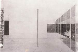 The Barcelona Pavilion's «lost drawings», for the first ...