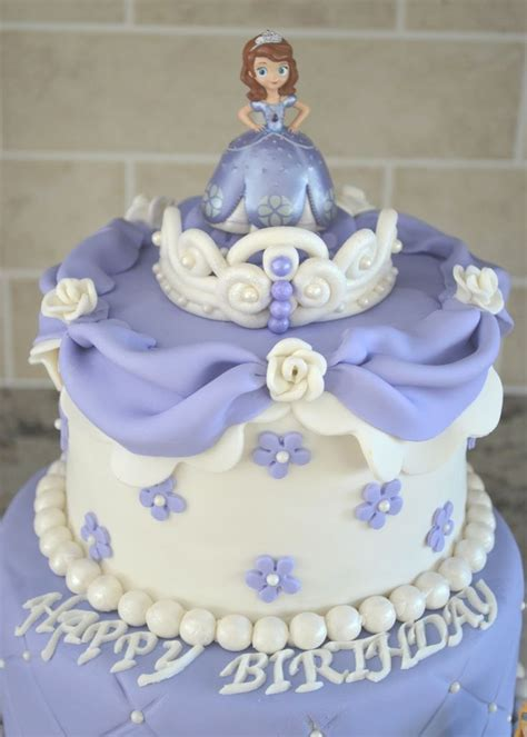 pin  kimsey ruggiero  birthday ideas sofia cake