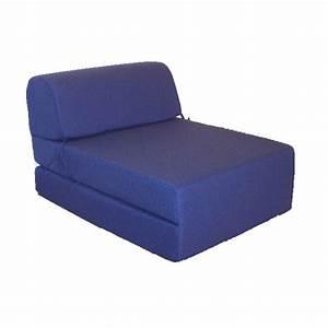 Canapé Lit Une Place : canap s lit une place en bleu ~ Teatrodelosmanantiales.com Idées de Décoration