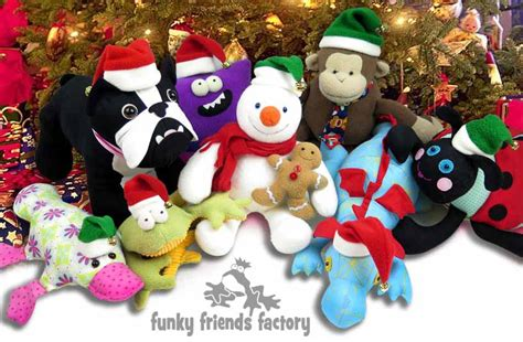 christmas hats sewing pattern funky friends factory