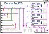 Logic Diagram Of Bcd To Decimal Decoder
