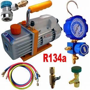 Recharge Clim Clio 3 : kit pompe a vide pour recharge clim automobile au r134a chez ted outils pour climatisation et ~ Gottalentnigeria.com Avis de Voitures