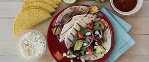 Grilled Veggie Ten Minute Tacos recipe from Betty Crocker