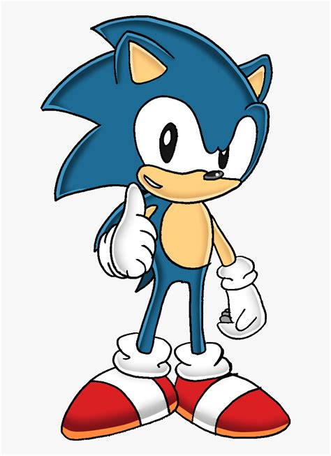 Sonic The Hedgehog Clipart Classic - Classic Sonic The ...
