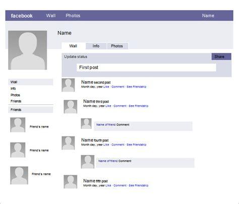 facebook powerpoint template    format