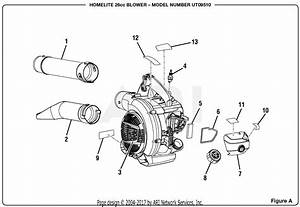Homelite Ut09510 26cc Blower Parts Diagram For Figure A