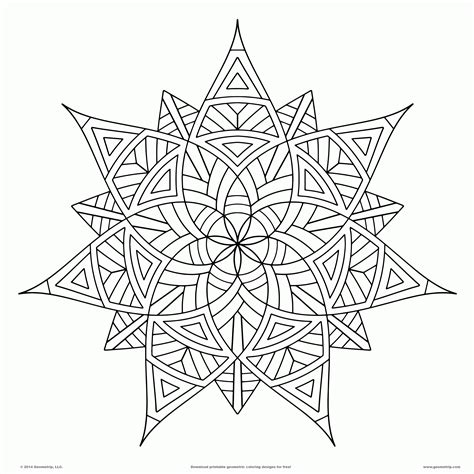 awesome design mandala coloring pages  printable
