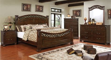 brown cherry calking size bedroom pc set hot sectionals