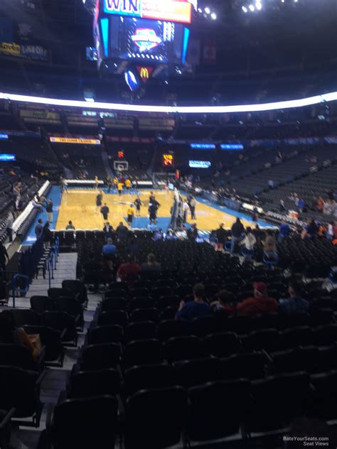 chesapeake energy arena section  oklahoma city