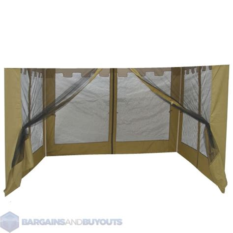 outdoor 10 square offset mosquito net for umbrellas in