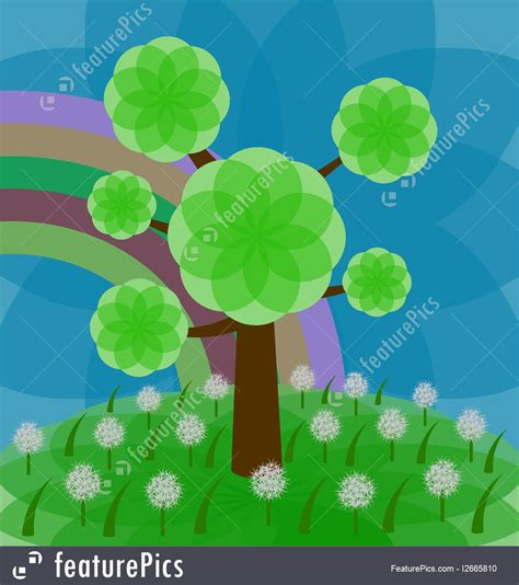 color tree color tree illustration