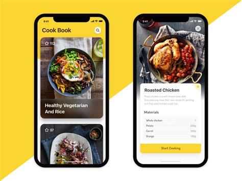 cook book app design  plankton dribbble dribbble