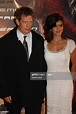 Thomas Haden Church and his wife Mia Zottoli attend the ...