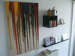Eingangsschild Selbst Gestalten : wanddekoration selbermachen kreatives wandbild selbst ~ Lizthompson.info Haus und Dekorationen