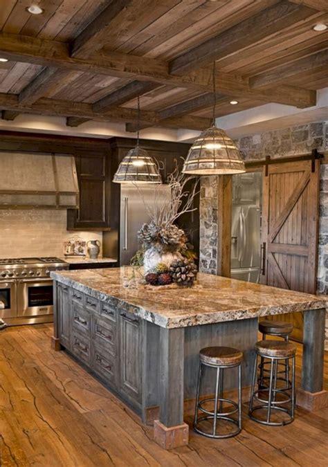 ideas  disenos de gabinetes de cocina rusticos