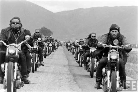The 1950s All-black Biker Gang