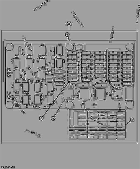 Deere 5203 Fuse Box Diagram by Fuse Panel And Relay Board 22914 Loader Four Wheel