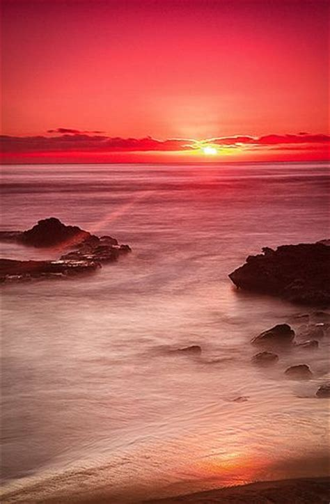 Sunset Cliffs San Diego Moonbeams Sunrays