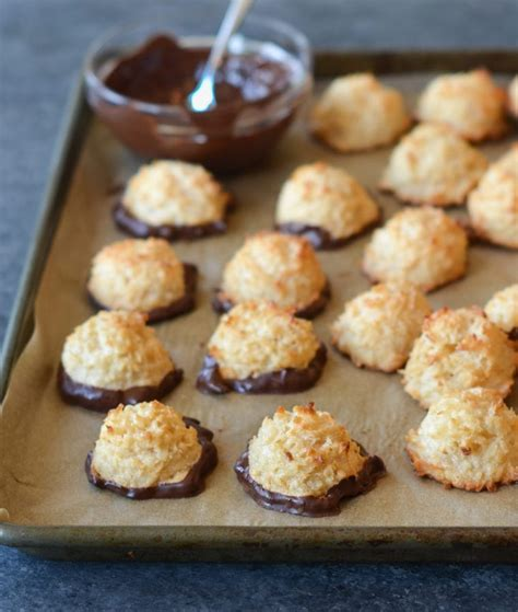 coconut macaroons    chef