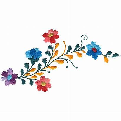 Mexican Flowers Clipart Embroidery Tattoo Flower Roses